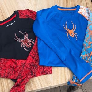 Spyder Long Sleeve Shirts